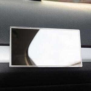 Steel Rectangle Sun Visor Sun-shading Makeup White Interior Z4D4 A0L5
