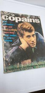 magazine salut les copains 1963 supplément du n°134 Hallyday bardot James Dean D