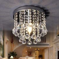 Elegant Crystal Chandelier Modern Ceiling Light Lamp Pendant Fixture Home Decor
