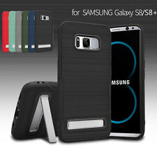 Samsung Galaxy Note 8/S8/S8+ Case Slim Hybrid Shockproof Hard Armor Stand Cover