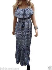 Viscose Boho Floral Dresses for Women