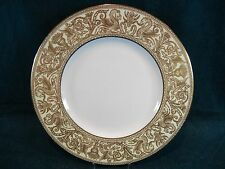 Wedgwood Florentine Gold Ivory Rim Gold Dragons W4220 Dinner Plate(s)
