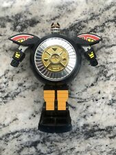 Vintage Power Rangers Zeo Warrior Wheel Mega Zord Bandai 1996 Deluxe Transforms