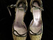 Petra Firenze Tweed Multi Color Pumps High Heels Size 39