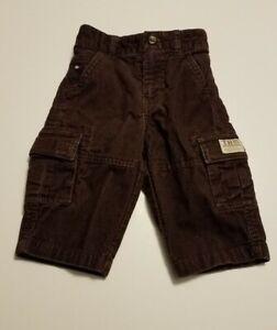 Tommy Hilfiger Baby Boy's Brown Corduroy Pants Size 3-6 Months EUC
