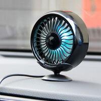 Voiture Ventilateur de Refroidissement Ajustement Puissant Silencieux Fan USB