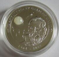Cook-Inseln 10 Dollars 2014 Galileo Galilei 2 Oz Silber