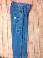 levi's Strauss Colección Niños Auténtico Carpintero Jeans M lavado Talla 10 Reg