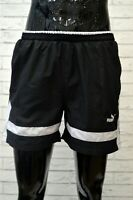 Costume PUMA Uomo Taglia 44 Mare Piscina Pantaloncino Shorts Rete Nero Kostüm