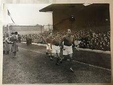 photo press football  1952 France-Irlande à Dublin      545
