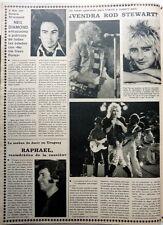 ROD STEWART / Neil DIAMOND => 1 page 1979  Spanish CLIPPING !!!