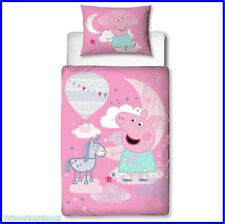 NEW & SEALED Peppa Pig My First Junior Cot Toddler Duvet Cover & Pillowcase Set