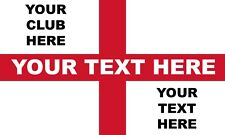 More details for england football custom printed st george flag | any size | any club | euro 2020