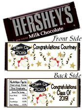 12 Graduation Party Hershey Candy Bar Wrappers Congratulations Class Of 2019