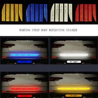 Safety Reflective Warning Strip Car Bumper Reflector Sticker Auto Accessories