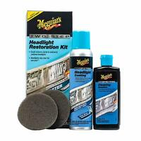 Meguiar's G2970 Two Step Keep Clear Headlight Restoration Coating Spray Kit