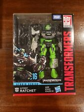 Transformers Generations Studio Series Deluxe Class #16 Ratchet New and Sealed