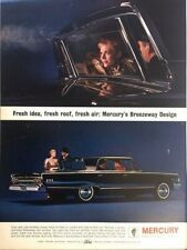 1963 Mercury Breezeway Vintage Advertisement Print Art Car Ad Poster LG72
