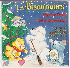 Disque vinyle 45T  LES BISOUNOURS 1986 Bisous Noël. DV142