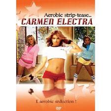 25828 // CARMEN ELECTRA AEROBIC STRIP TEASE DVD NEUF