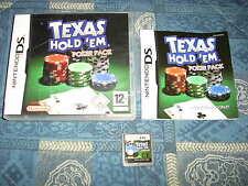 DS : TEXAS HOLD 'EM POKER PACK - Completo e compatibile con 3DS ! 8 giochi in 1