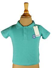 Mexx Shirt T-Shirt Poloshirt Kurzarm Auto grün türkis Junge Baby Größe 62 Neu