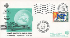 """CE17-I FDC Council of Europe """"Malta Membership to the Council of Europe"""" 05-1965"""
