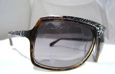 Affliction Sunglasses Glasses Talon Black Shiny Silver Authentic 65-14-130 New