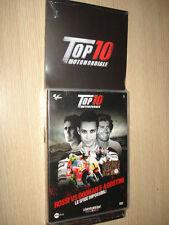DVD+ CAJA SUPERIOR 10 MOTOGP ROSSI VS DOOHAN Y AGOSTINI LOS DESAFÍOS IMPOSIBLE