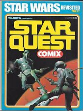 WARREN PRESENTS STAR QUEST COMIX #1 (VF) STAR WARS REVISITED, FAMOUS MONSTERS