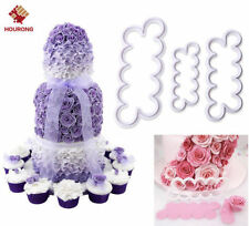 The Easiest Rose Ever Cutter Fondant Icing Mold Sugarcraft Decor Mould gum paste