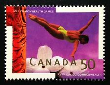 Canada #1521 MNH, XV Commonwealth Games Stamp 1994