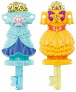 Go! Princess Pretty Makeover dress up key set Bandai Used