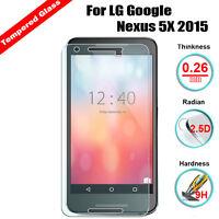 Premium Tempered Glass Screen Flim Protector For Google LG Nexus 5X H790 H791
