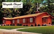 Bucyrus Ohio Wayside Chapel Street View Vintage Postcard K55177