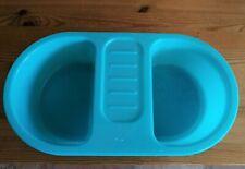 Kleinkind Baby Waschbecken Wannenbecken blau