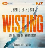 WISTING UND DER TAG DER VERMISSTEN (COLD CASES 1) - HORST,JORN   MP3 CD NEW