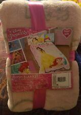 New Disney Princess plush Blanket- Oversized