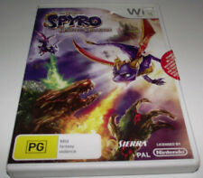 Spyro Dawn of the Dragon Nintendo Wii PAL *Complete* Wii U Compatible