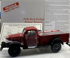 Danbury Mint 1946 Dodge POWER WAGON Rare Rare RED 1/24 Scale