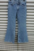 VINTAGE 70'S LEVIS 684 ORANGE TAB Light INDIGO DENIM BELL BOTTOM JEANS PANT