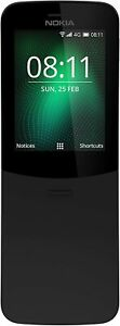Nokia 8110 (2018) Dual-SIM 4GB Unlocked 4G Smartphone International Version AT&T
