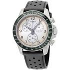 Tissot V8 Beige Dial Black Leather Strap Men's Watch T1064171603200