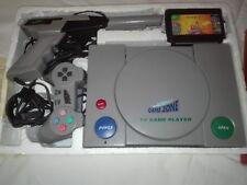 TV GAME Console 8 bit vintage SATELLITE TV GAME 2 Joysticks, Gun, Cartridge