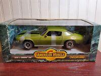 ERTL American Muscle 1970 1/2 Chevy Camaro Z/28 1:18 Scale Diecast Model Car
