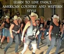 Learn to line dance American Country and Western Dance Music DVD Lessons