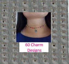Handgefertigte Modeschmuck-Halsketten & -Anhänger aus Perlen