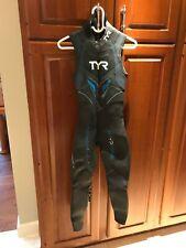 Tyr Women's Hurricane Cat 5 Sleeveless Triathlon Wetsuit, Sleeveless, Size S/M