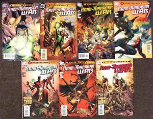 Rann-Thanagar War 1 Special,1,2,3,4,5,6 2005 Gibbons DC Set 2005 Infimite Crisis