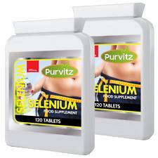 Selenio Pastillas Cápsulas 200Mcg Vitamina a C. E. Potencia
